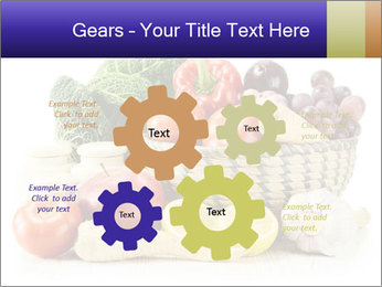 Raw Fruits and Vegetables PowerPoint Templates - Slide 47