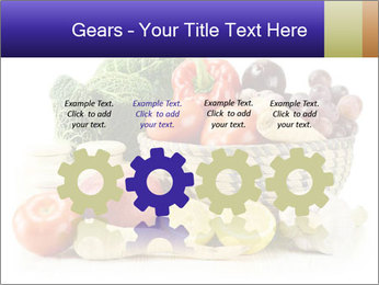 Raw Fruits and Vegetables PowerPoint Template - Slide 48