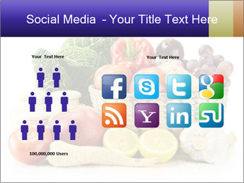 Raw Fruits and Vegetables PowerPoint Templates - Slide 5