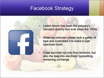 Raw Fruits and Vegetables PowerPoint Template - Slide 6