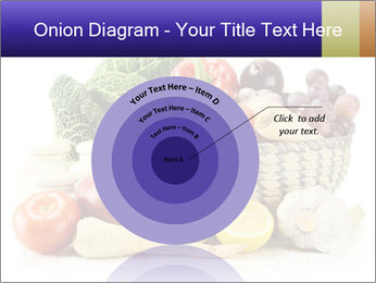 Raw Fruits and Vegetables PowerPoint Template - Slide 61