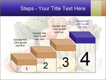 Raw Fruits and Vegetables PowerPoint Template - Slide 64