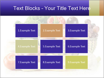 Raw Fruits and Vegetables PowerPoint Template - Slide 68