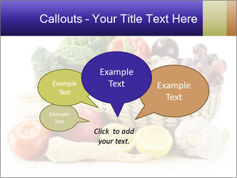 Raw Fruits and Vegetables PowerPoint Templates - Slide 73