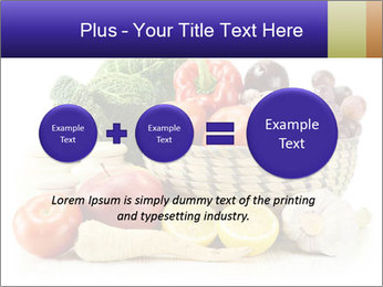 Raw Fruits and Vegetables PowerPoint Template - Slide 75