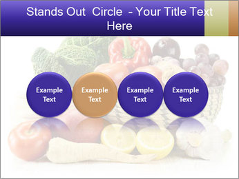 Raw Fruits and Vegetables PowerPoint Template - Slide 76