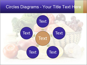 Raw Fruits and Vegetables PowerPoint Template - Slide 78