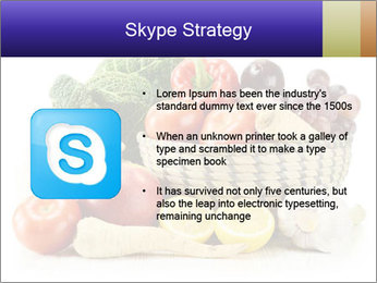 Raw Fruits and Vegetables PowerPoint Template - Slide 8