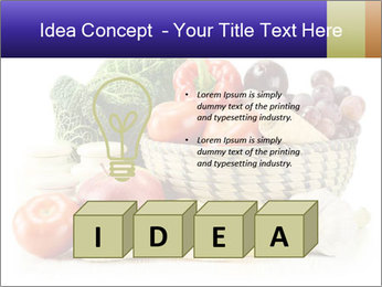 Raw Fruits and Vegetables PowerPoint Template - Slide 80