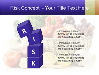 Raw Fruits and Vegetables PowerPoint Templates - Slide 81