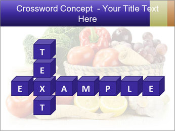 Raw Fruits and Vegetables PowerPoint Template - Slide 82