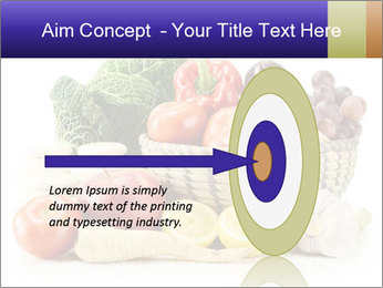 Raw Fruits and Vegetables PowerPoint Template - Slide 83