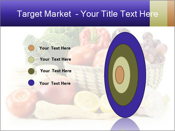 Raw Fruits and Vegetables PowerPoint Templates - Slide 84