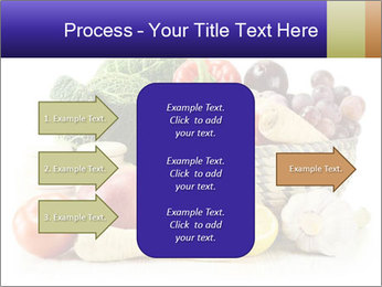 Raw Fruits and Vegetables PowerPoint Template - Slide 85