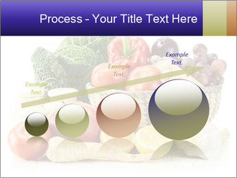 Raw Fruits and Vegetables PowerPoint Template - Slide 87