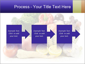 Raw Fruits and Vegetables PowerPoint Template - Slide 88