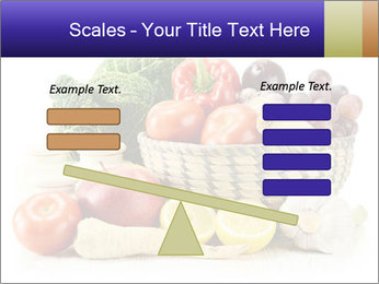 Raw Fruits and Vegetables PowerPoint Template - Slide 89