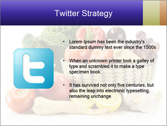 Raw Fruits and Vegetables PowerPoint Template - Slide 9