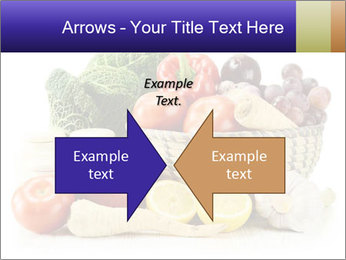 Raw Fruits and Vegetables PowerPoint Template - Slide 90