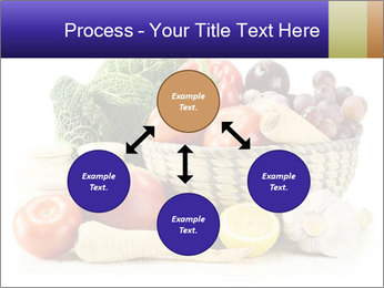 Raw Fruits and Vegetables PowerPoint Template - Slide 91