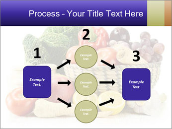 Raw Fruits and Vegetables PowerPoint Template - Slide 92