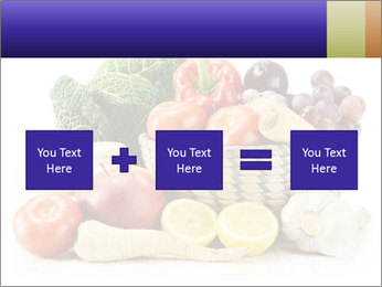 Raw Fruits and Vegetables PowerPoint Template - Slide 95