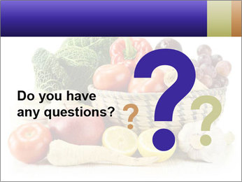 Raw Fruits and Vegetables PowerPoint Template - Slide 96