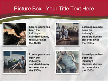 Model and Luxury Bedroom PowerPoint Template - Slide 14
