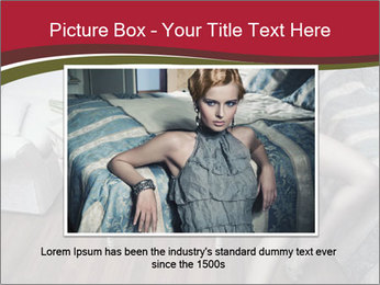 Model and Luxury Bedroom PowerPoint Template - Slide 15