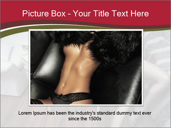 Model and Luxury Bedroom PowerPoint Template - Slide 16