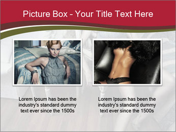 Model and Luxury Bedroom PowerPoint Template - Slide 18