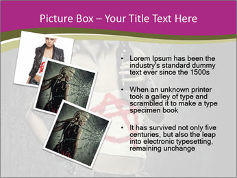 Crazy Punk Girl PowerPoint Templates - Slide 17
