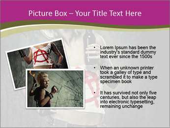 Crazy Punk Girl PowerPoint Templates - Slide 20
