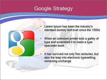 Repairman and Broken Washing Machine PowerPoint Templates - Slide 10