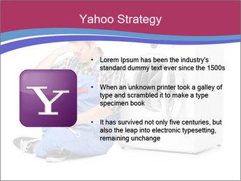 Repairman and Broken Washing Machine PowerPoint Templates - Slide 11