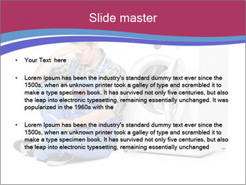 Repairman and Broken Washing Machine PowerPoint Templates - Slide 2