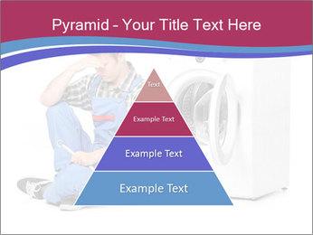 Repairman and Broken Washing Machine PowerPoint Templates - Slide 30