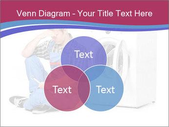 Repairman and Broken Washing Machine PowerPoint Templates - Slide 33