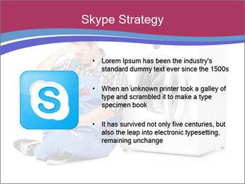 Repairman and Broken Washing Machine PowerPoint Templates - Slide 8