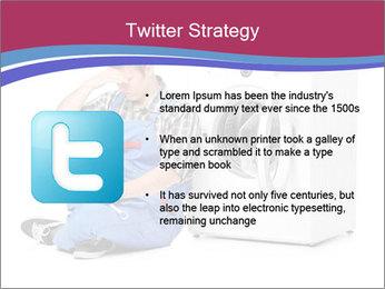Repairman and Broken Washing Machine PowerPoint Templates - Slide 9