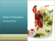 Fruit Water PowerPoint Templates