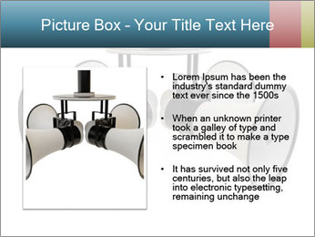 City Megaphone PowerPoint Template - Slide 13