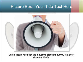City Megaphone PowerPoint Template - Slide 16