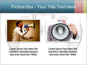 City Megaphone PowerPoint Template - Slide 18