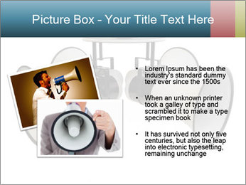 City Megaphone PowerPoint Template - Slide 20