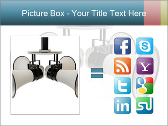 City Megaphone PowerPoint Template - Slide 21