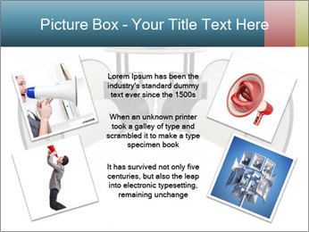 City Megaphone PowerPoint Template - Slide 24