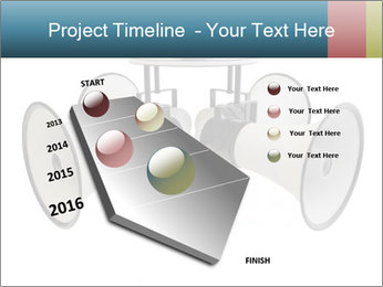 City Megaphone PowerPoint Template - Slide 26