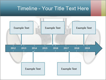 City Megaphone PowerPoint Template - Slide 28