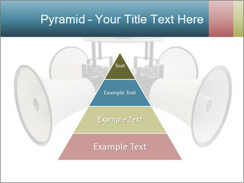 City Megaphone PowerPoint Template - Slide 30